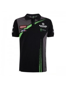 Polo homme Kawasaki Racing Team WorldSBK | Devant