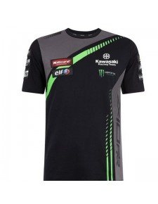 T-shirt homme Kawasaki Racing Team WorldSBK | Devant