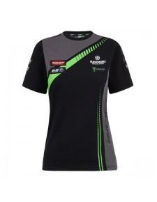 T-shirt femme Kawasaki Racing Team WorldSBK | Devant