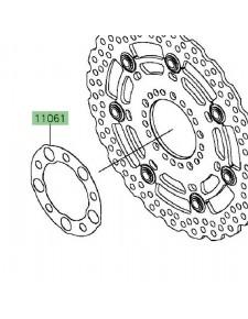Joint disque de frein avant Kawasaki Er-6n ABS (2012-2016)   Réf. 110610451