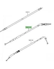 Câble d'embrayage Kawasaki Z800 (2013-2016) | Réf. 540110599