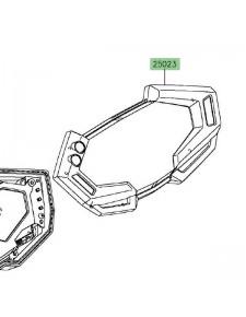 Dessus de compteur Kawasaki Z800 (2013-2016), sans ABS | Réf. 250230085