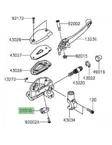Contacteur de frein avant Kawasaki Z800 (2013-2016)  | Réf. 270100025