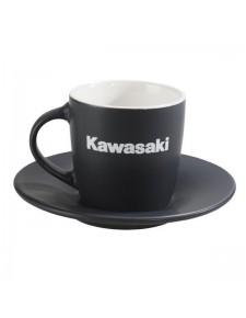 Tasse à café avec soucoupe Kawasaki | Réf. 122SPM0024