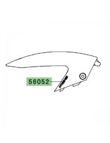 "Autocollant ""ABS"" garde-boue avant Kawasaki Er-6n (2009-2011) | Moto Shop 35"