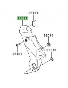 Cache pivot gauche Kawasaki Er-6n (2009-2011) | Réf. 140911584