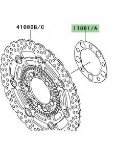 Joint disque de frein avant Kawasaki Er-6n ABS (2011) | Réf. 110610451