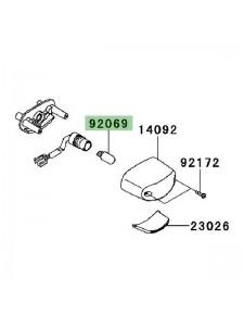 Ampoule (12V/5W) éclairage de plaque Kawasaki Er-6n (2009-2011) | Réf. 920691016