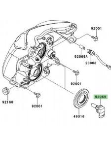 Ampoule H11 (12V/55W) optique avant Kawasaki Er-6n (2009-2011) | Réf. 920690056