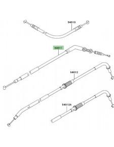 Câble d'embrayage Kawasaki Z750 (2004-2006) | Réf. 540110024