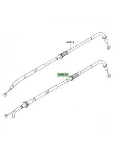 Câble ouverture des gaz Kawasaki Z750 (2004-2006) | Moto Shop 35