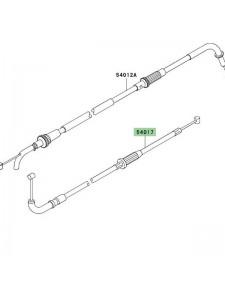 Câble starter Kawasaki Z750 (2004-2006) | Moto Shop 35