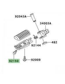 Téton de repose-pieds Kawasaki Z750 (2004-2006) | Réf. 921501114