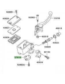 Contacteur de frein avant Kawasaki Z750 (2004-2006) | Réf. 270100025