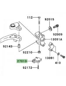 Contacteur d'embrayage Kawasaki Z750 (2004-2006) | Réf. 270101094