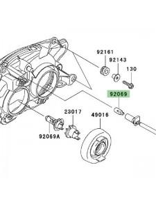 Veilleuse optique avant Kawasaki Z750 (2004-2006) | Réf. 920691016