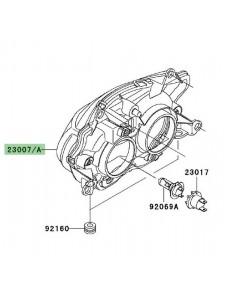 Optique avant Kawasaki Z750 (2004-2006)   Réf. 230070043