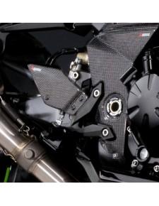 Platine repose-pieds carbone Kawasaki Z750 (2007-2012) | Moto Shop 35