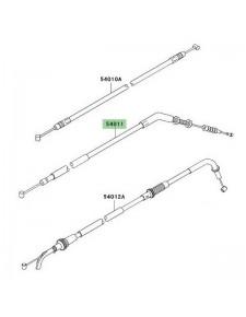Câble d'embrayage Kawasaki Z750 (2007-2012)   Réf. 540110090
