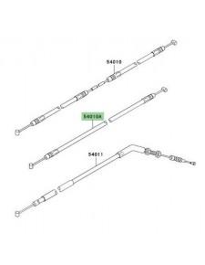 Câble de fermeture de selle arrière Kawasaki Z750 (2007-2012)   Réf. 540100048