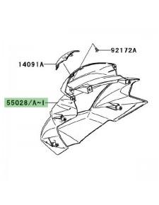 Tête de fourche peinte Kawasaki Z750 (2007-2012)   Moto Shop 35