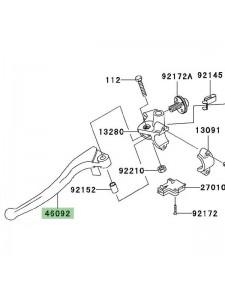 Levier d'embrayage Kawasaki Z750 (2007-2012)   Réf. 460920003
