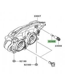 Veilleuse (12V/5W) optique avant Kawasaki Z750 (2007-2012)   Réf. 920691016