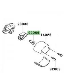 Ampoule éclairage de plaque Kawasaki Z750 (2007-2012))   Réf. 920691055