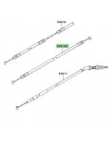 Câble de fermeture de selle arrière Kawasaki Z750R (2011-2012) | Réf. 540100048