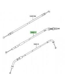 Câble d'embrayage Kawasaki Z750R (2011-2012) | Réf. 540110553