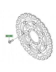 Vis de fixation disque de frein avant Kawasaki Z750R (2011-2012) | Réf. 921541865