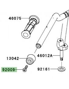Embout de guidon Kawasaki Z750R (2011-2012) | Réf. 920091257