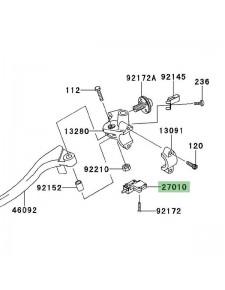 Contacteur d'embrayage Kawasaki Z750R (2011-2012) | Réf. 270101094