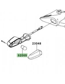 Ampoule (12V/10W) de clignotants Kawasaki Z750R (2011-2012) | Réf. 920690076