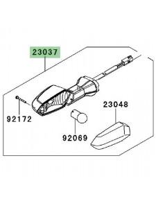 Clignotant arrière gauche Kawasaki Z750R (2011-2012) | Réf. 230370237