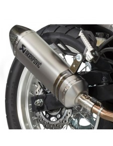 Échappement Akrapovic Slip-On Kawasaki Versys-X 300 (2017-2018) | Réf. 258EXP0088