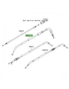 Câble d'embrayage Kawasaki Versys 650 (2007-2009) | Réf. 540110082