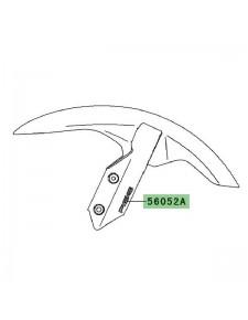 "Autocollant ""ABS"" garde-boue avant Kawasaki Versys 650 (2007-2009) | Moto Shop 35"