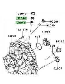 Roulement à aiguilles carter d'embrayage Kawasaki Versys 650 (2007-2009) | Réf. 920460034