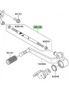 Tige sélecteur de vitesse Kawasaki Versys 650 (2007-2009) | Réf. 391101124
