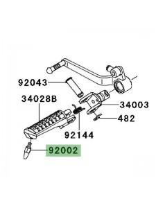 Téton de repose-pieds Kawasaki Versys 650 (2007-2009) | Réf. 920021742