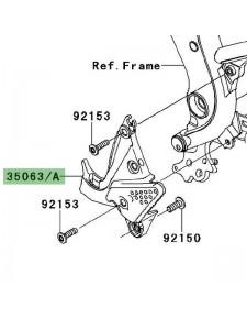 Platine repose-pieds avant gauche Kawasaki Versys 650 (2007-2009) | Moto Shop 35