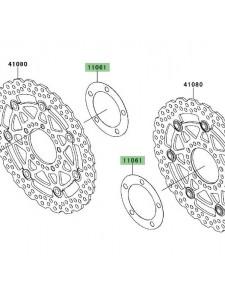 Joint de disque de frein avant Kawasaki Versys 650 (2007-2009) | Moto Shop 35