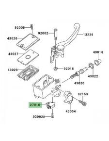 Contacteur de frein avant Kawasaki Versys 650 (2007-2009) | Réf. 270100025