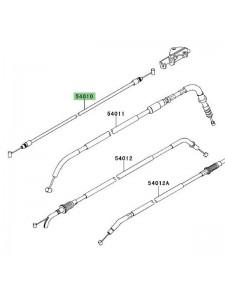 Câble fermeture de selle Kawasaki Versys 650 (2010-2014) | Moto Shop 35