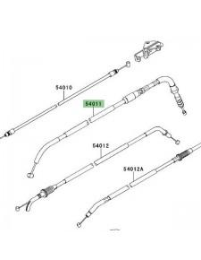Câble d'embrayage Kawasaki Versys 650 (2010-2014) | Moto Shop 35