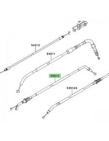 Câble ouverture des gaz Kawasaki Versys 650 (2010-2014) | Moto Shop 35
