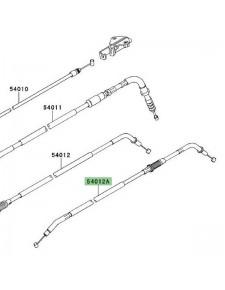 Câble fermeture des gaz Kawasaki Versys 650 (2010-2014) | Moto Shop 35