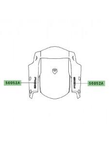 "Autocollant ""ABS"" garde-boue avant Kawasaki Versys 650 (2010-2014) | Moto Shop 35"