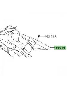 Protection de chaîne Kawasaki Versys 650 (2010-2014) | Réf. 360140018